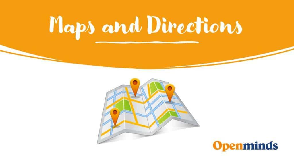chiedere indicazioni stradali in inglese