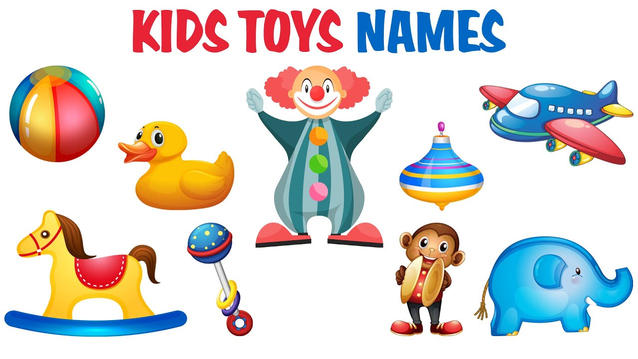nomi dei giocattoli in inglese