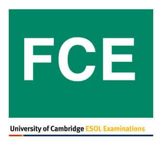 First Certificate di cambridge