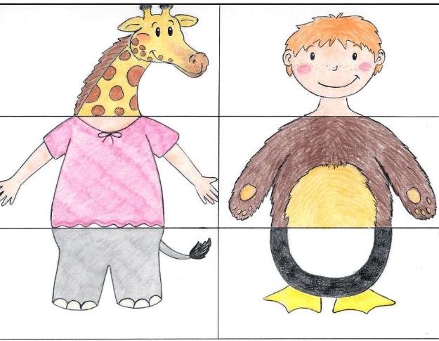 Insegnare le parti del corpo gioco per bambini
